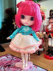 Кукла Блайз. Blythe. New face. Милашка в пышном красивом платье.