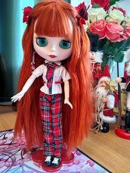 Красотка Блайз. Blythe. Полный комплект. Кукла с подставкой.