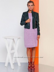 Манхеттен платье вязаное сиреневое
