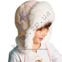 Зимняя шапка-ушанка , Dembohouse  48 размер