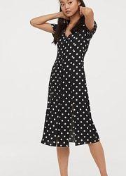 Новое трендовое платье h&m, размер eur 46