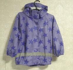 Дождевик, ветровка, куртка для девочки 3-5 лет 100-116
