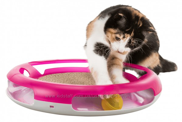 Trixie Трикси Race & Scratch Игрушка-когтеточка для кошек 37 см