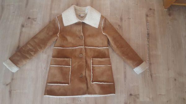 Стильное пальто H&M рост 140-146