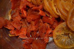 Цукаты и сухофрукты урожая 2019 из эко продуктов