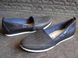 Кожаные туфли балетки Tamaris, р. 40  26см.