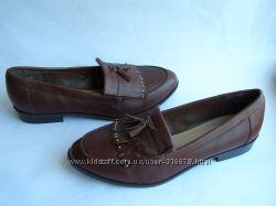 Кожаные туфли-лоферы New Look, р. 42 27 см.