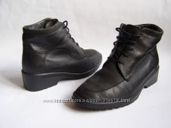 Кожаные ботинки Solidus, размер 38, 5  25 см.