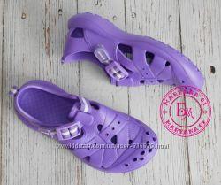Удобные кроксы, аквашузы Steiner фиолетовые размер 36-41