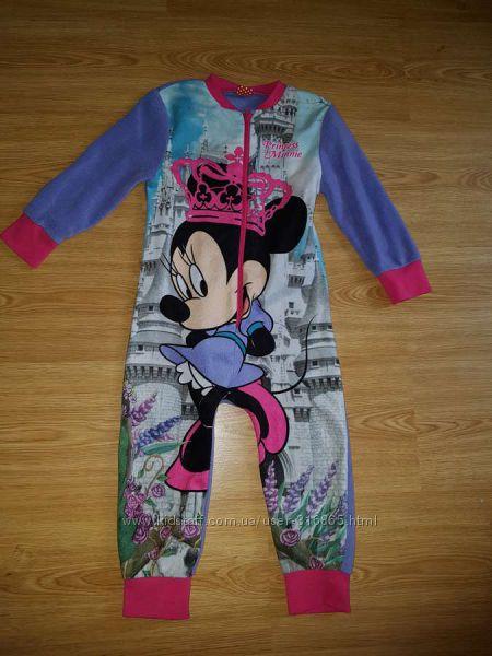 Пижамка-слип Флисовая Primark Disney на девочку