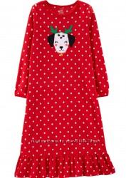 Флисовая нарядная пижама Картерс на рост 98 см