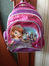Продам ортопедический рюкзак для 1-4 класса Принцесса София