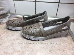 Мокасины туфельки Rieker