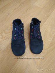 Замшевые демисезонные ботиночки ТМ Каприз