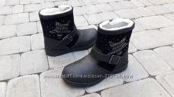 Новые зимние ботинки Primigi р. 31, натуральная кожа