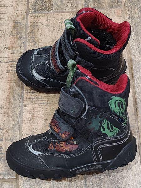 GEOX  gore-tex ботинки 24р 14-14.5см