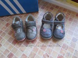 кроссовки детские Clarks кожа длина по стельке 13, 5 см