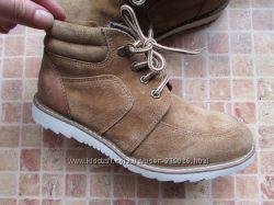 ботинки детские Marks & Spencer замша Длина по стельке 21 см