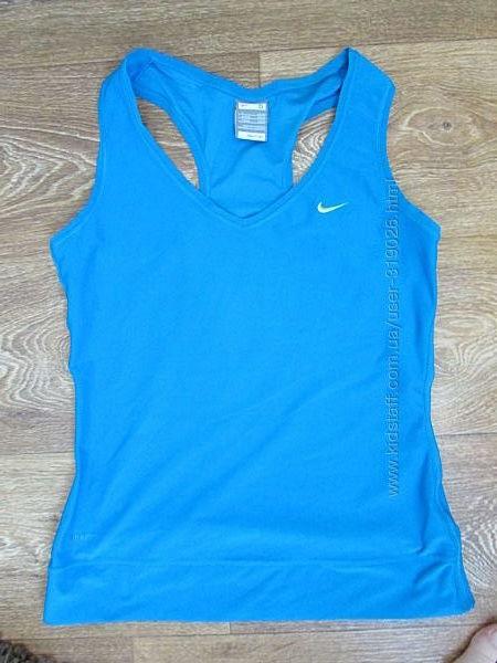 майка Nike Fit женская S M размер