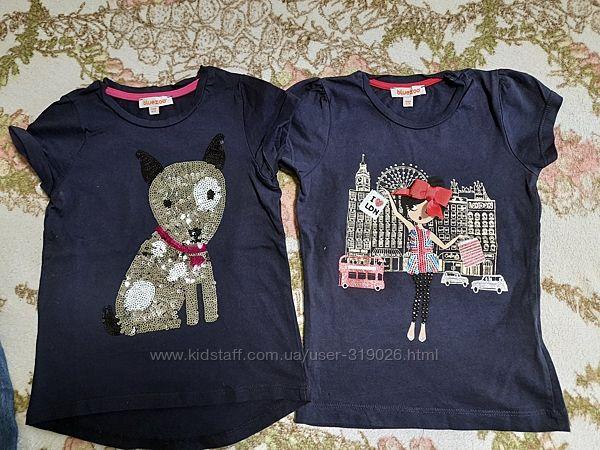 футболки для девочки Blue Zoo на 3-4 года и рост до 110 см