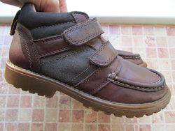 ботинки детские Clarks кожа длина по стельке 20,5 см
