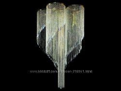 Хрустальная люстра Art Glass Spiral dia 1200 скидка