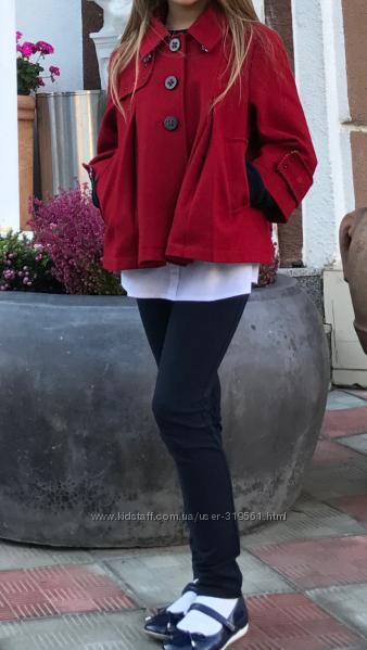 Пиджак полупальто  DKNY для модницы в школу и не только