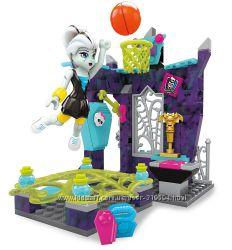 Конструктор Mega Bloks Monster High - Мега Блокс Спортзал Френки