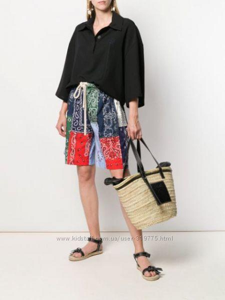 Дизайнерская плетеная сумка-корзина BAGATELLE FRANCE