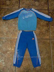 костюм adidas оригинал 2-3 года