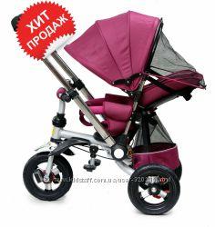 Детский велосипед - коляска Baby trike CT-30 с перекидной ручкой . Новинка