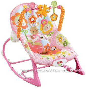 Масажне крісло-гойдалка Fisher-Price Банні