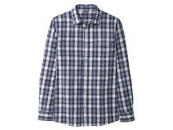 Livergy мужская хлопковая повседневная рубашка Германия