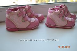 Демисезонные ботинки для девочек ТМ Леопард р. 22, 23