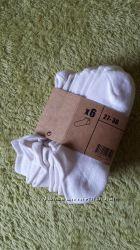 Носки короткие белые, р. 27-30, 4 пары