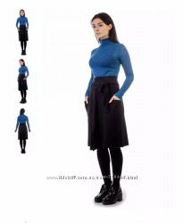 Шерстяная теплая юбка р. S