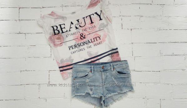 Стильные джинсовые шорты H&M