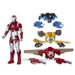 Набор Железный человек Marvel Titan Hero Series Iron Man Combat Pack