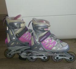 Детские раздвижные ролики Rollerblade, размер 33-36. 5, стелька 21-23см
