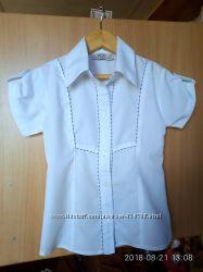 Блузка школьная р. 128