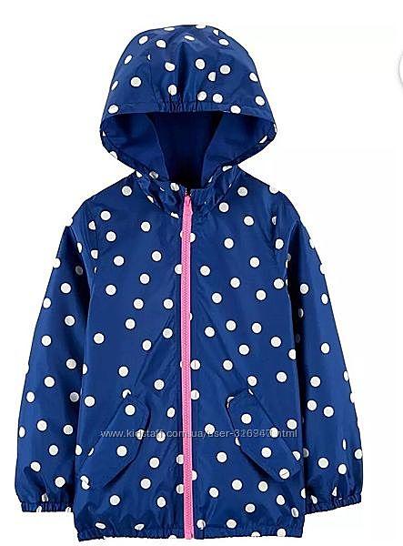 Ветровка дождевик  на девочку от фирмы Картерс