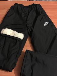 Штаны мужские зимние новые внутри мех размер батал в наличии