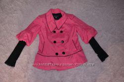 Курточка рожева демісезонна куртка розовая демисезонная 48 размер