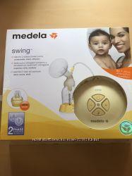 Б у Medela Молокоотсос электрический Swing с смарт соской и подарки