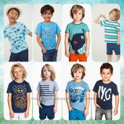 Новые футболки H&M большой выбор