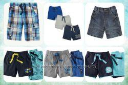 Новые шорты F&F, MATALAN, MOTHERCARE, lupilu