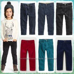 Новые вельветовые штаны H&M