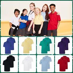 Новые  футболочки поло GEORGE от 3 до 16 лет