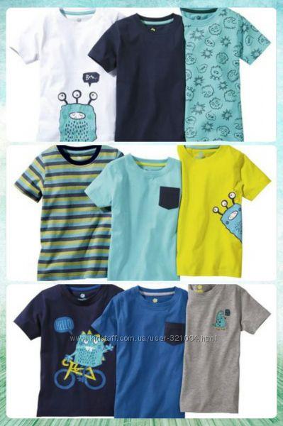 Новые футболочки lupilu