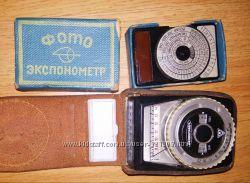 Фотоэкспонометры Оптек и Ленинград 4